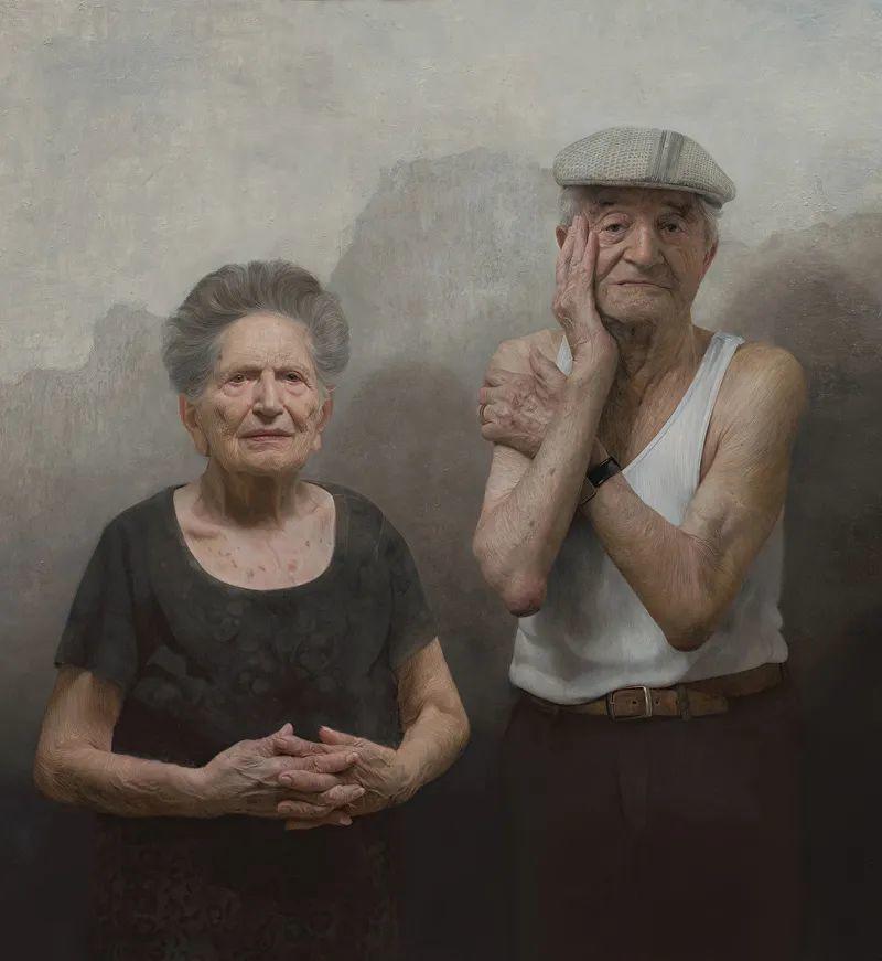 从美学上捕捉人们的真实形态,美国画家戴维·卡桑插图1