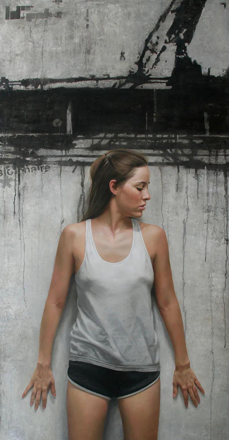 从美学上捕捉人们的真实形态,美国画家戴维·卡桑插图2