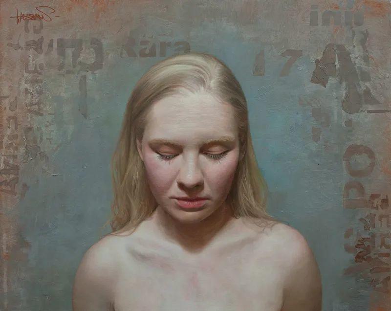 从美学上捕捉人们的真实形态,美国画家戴维·卡桑插图3