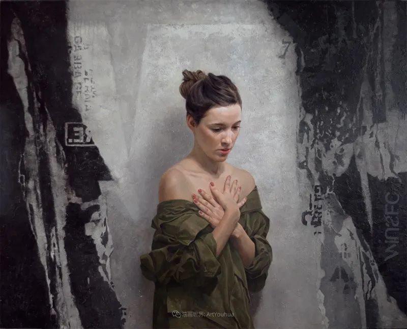 从美学上捕捉人们的真实形态,美国画家戴维·卡桑插图5