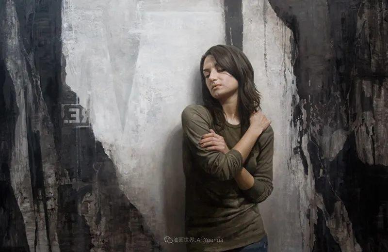 从美学上捕捉人们的真实形态,美国画家戴维·卡桑插图6