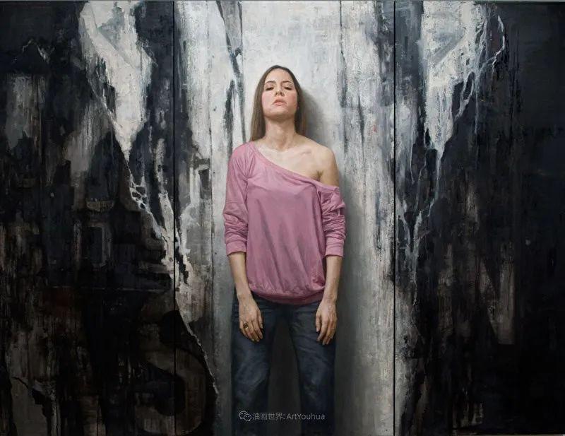 从美学上捕捉人们的真实形态,美国画家戴维·卡桑插图7