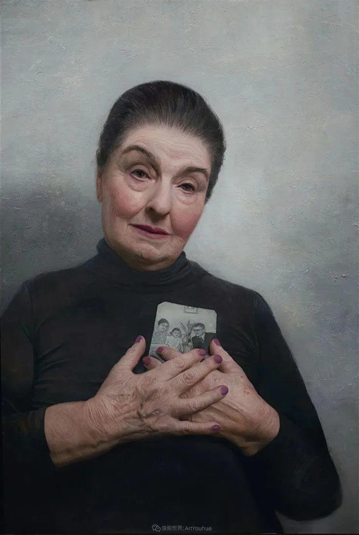 从美学上捕捉人们的真实形态,美国画家戴维·卡桑插图8