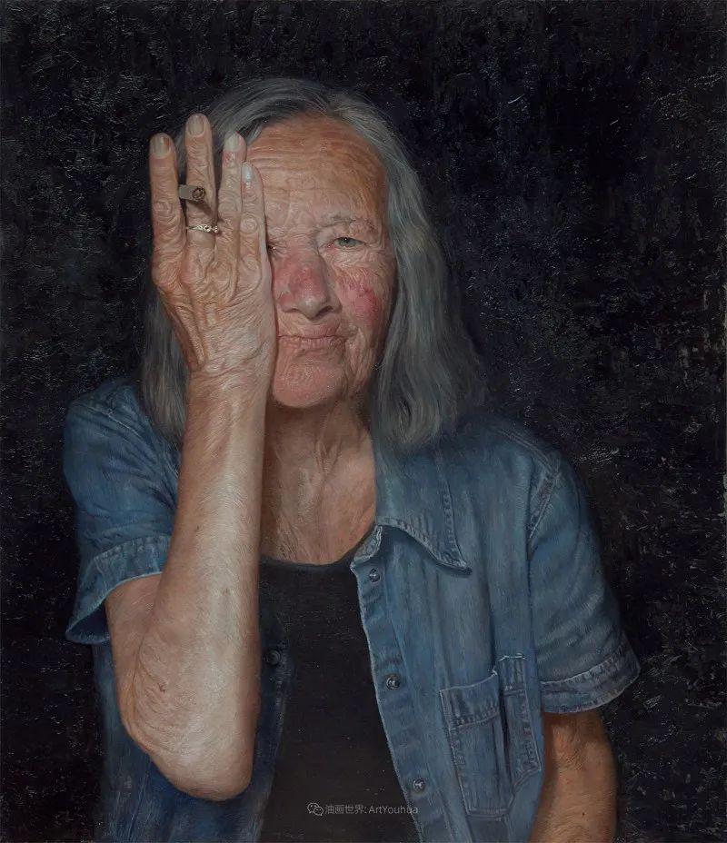 从美学上捕捉人们的真实形态,美国画家戴维·卡桑插图11