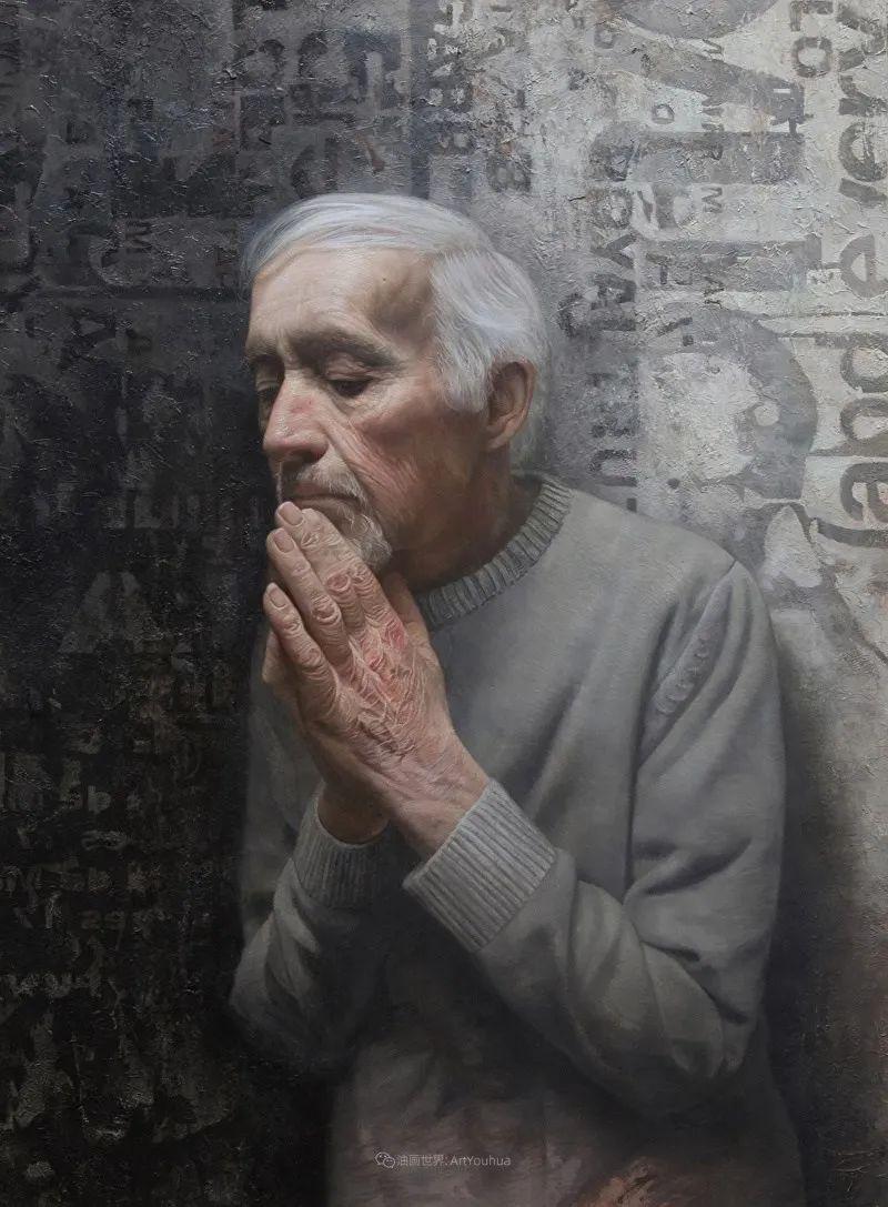 从美学上捕捉人们的真实形态,美国画家戴维·卡桑插图12