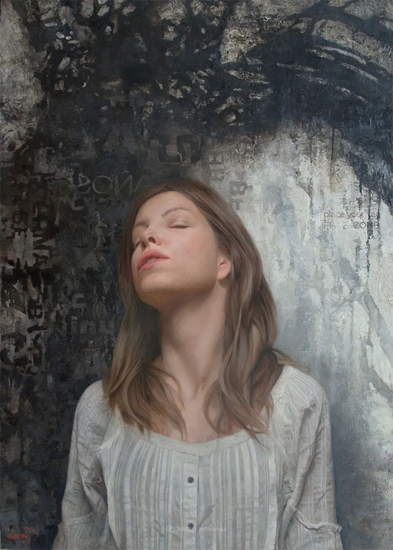 从美学上捕捉人们的真实形态,美国画家戴维·卡桑插图15