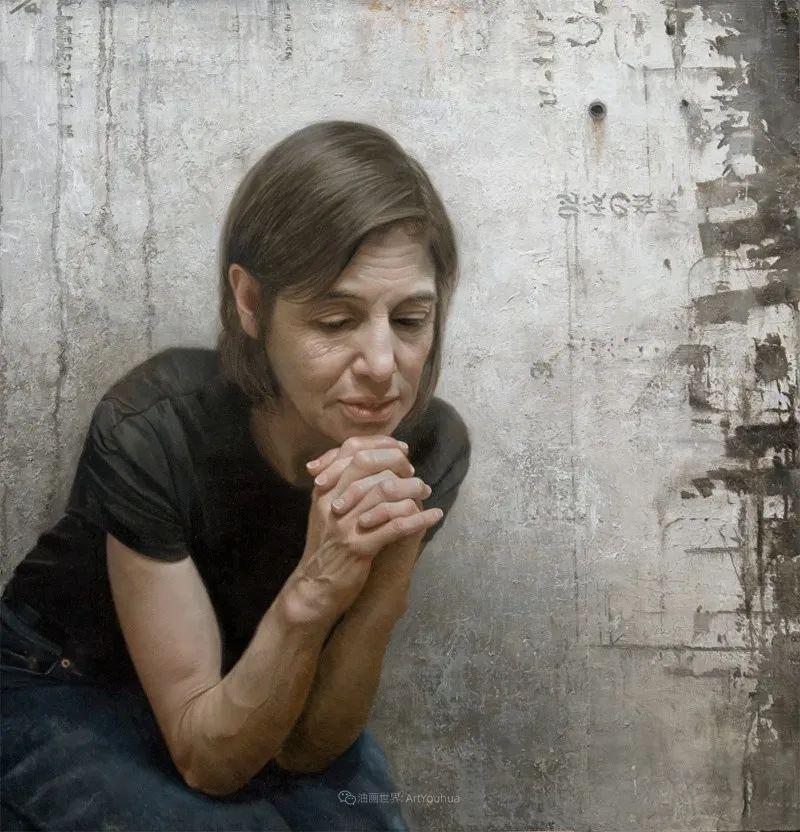 从美学上捕捉人们的真实形态,美国画家戴维·卡桑插图16