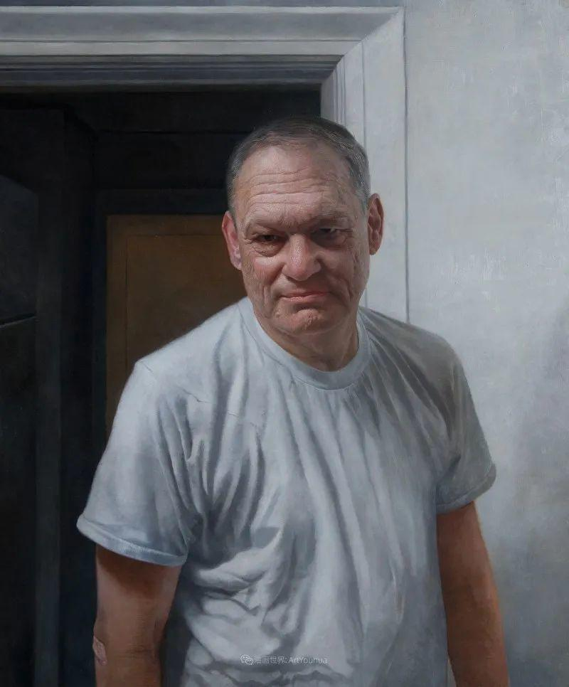 从美学上捕捉人们的真实形态,美国画家戴维·卡桑插图17
