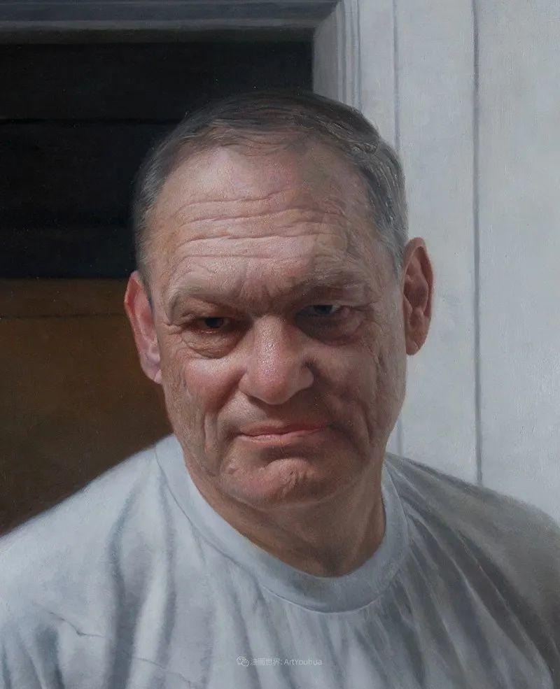 从美学上捕捉人们的真实形态,美国画家戴维·卡桑插图18