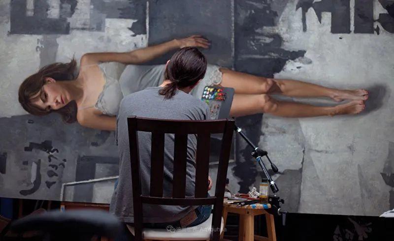 从美学上捕捉人们的真实形态,美国画家戴维·卡桑插图19