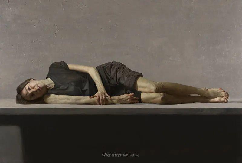 从美学上捕捉人们的真实形态,美国画家戴维·卡桑插图20