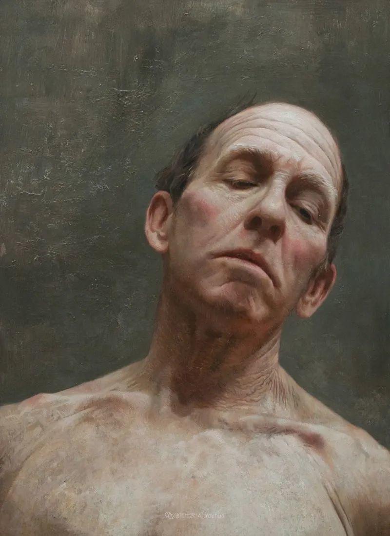 从美学上捕捉人们的真实形态,美国画家戴维·卡桑插图21