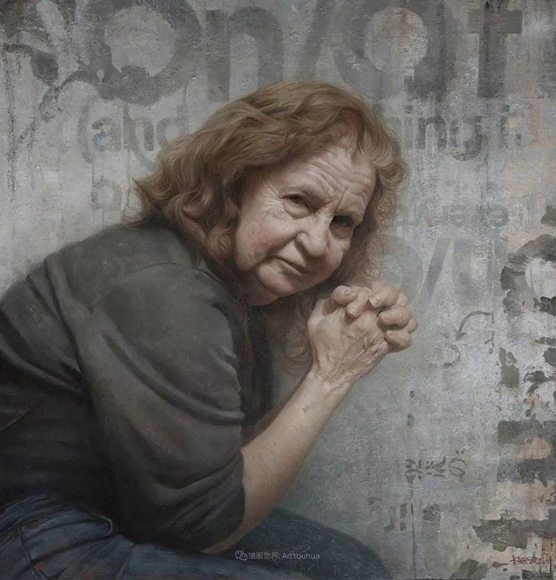 从美学上捕捉人们的真实形态,美国画家戴维·卡桑插图22