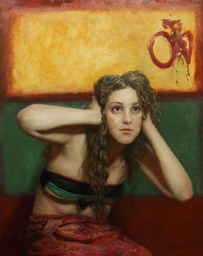有趣的人物创作,古巴裔美国画家塞萨尔·桑托斯(下)插图9