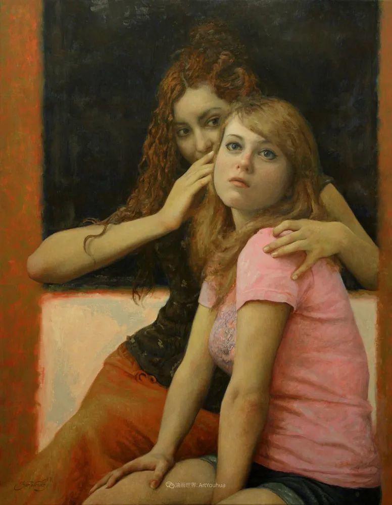 有趣的人物创作,古巴裔美国画家塞萨尔·桑托斯(下)插图15