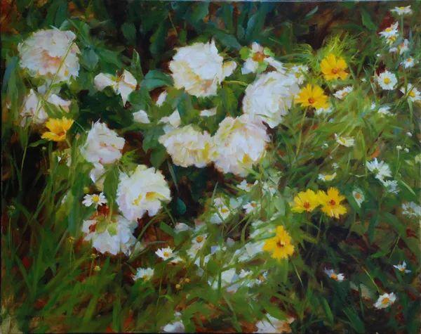 对花卉和花园的独特诠释,美国女画家凯西·安德森插图6