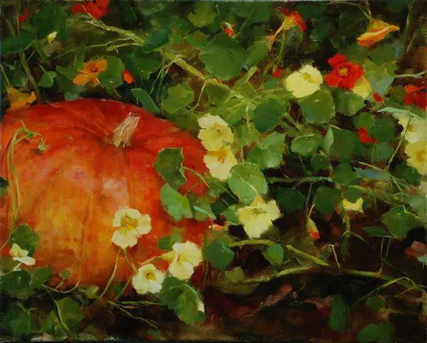 对花卉和花园的独特诠释,美国女画家凯西·安德森插图7