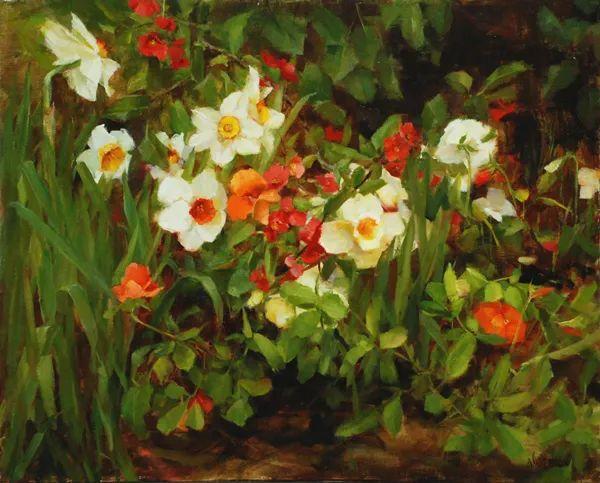 对花卉和花园的独特诠释,美国女画家凯西·安德森插图10