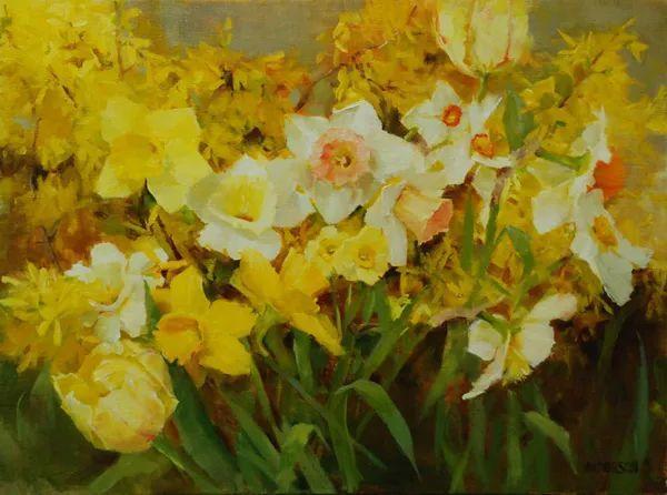 对花卉和花园的独特诠释,美国女画家凯西·安德森插图11