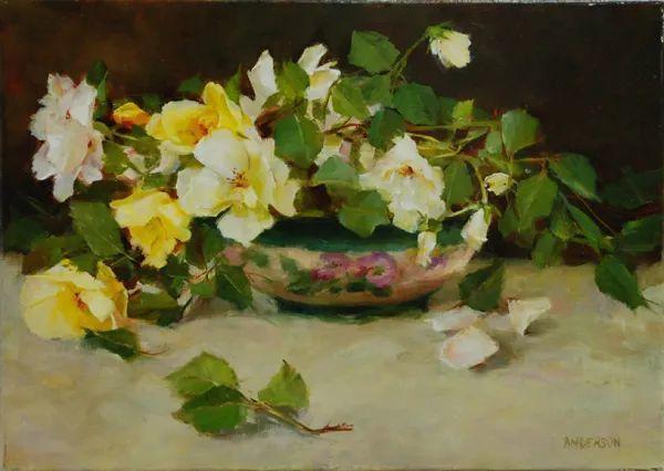 对花卉和花园的独特诠释,美国女画家凯西·安德森插图12