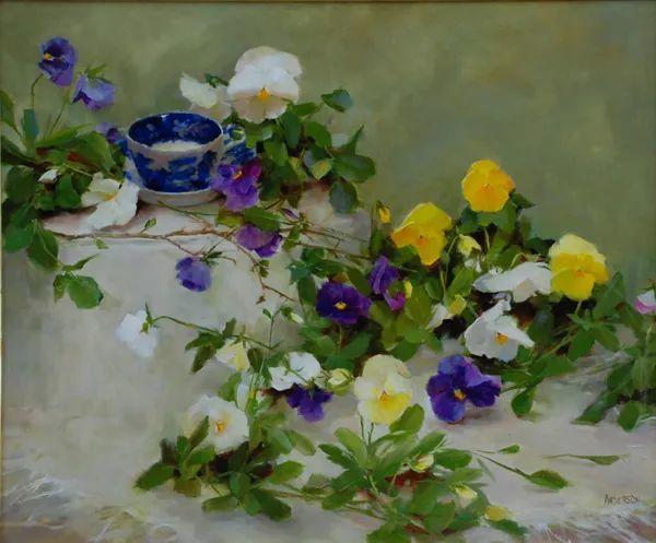 对花卉和花园的独特诠释,美国女画家凯西·安德森插图15