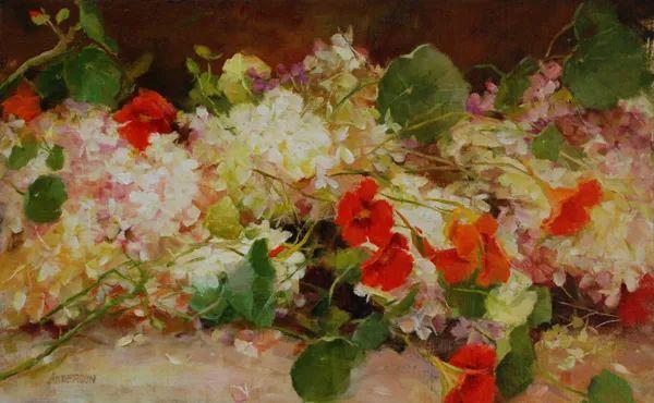 对花卉和花园的独特诠释,美国女画家凯西·安德森插图16