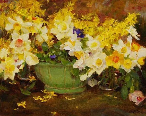 对花卉和花园的独特诠释,美国女画家凯西·安德森插图22