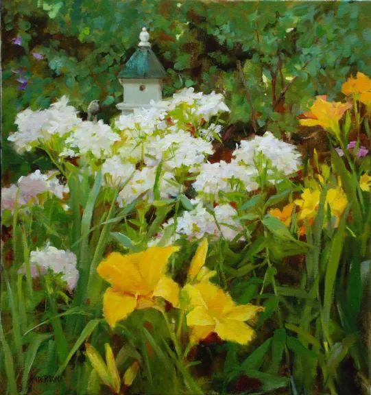 对花卉和花园的独特诠释,美国女画家凯西·安德森插图23