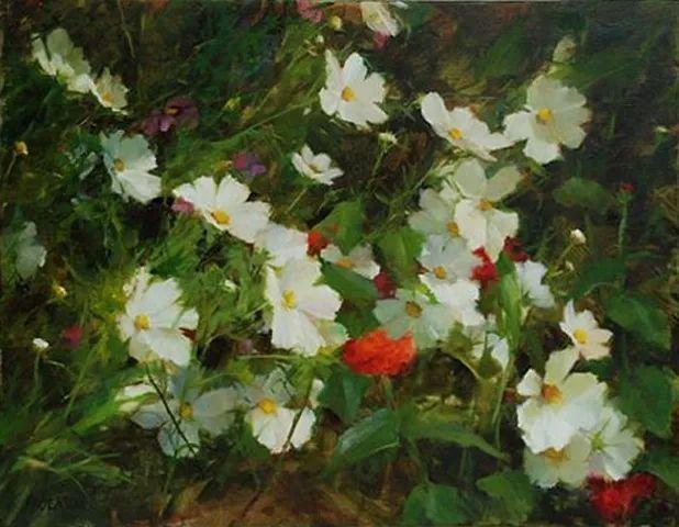 对花卉和花园的独特诠释,美国女画家凯西·安德森插图26
