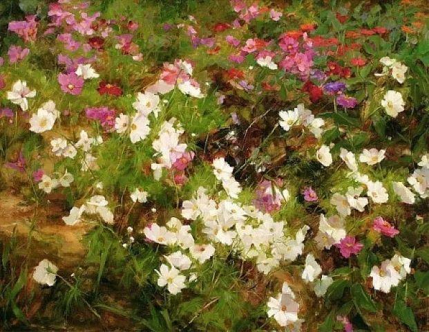 对花卉和花园的独特诠释,美国女画家凯西·安德森插图27