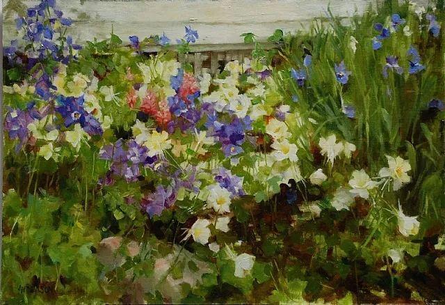 对花卉和花园的独特诠释,美国女画家凯西·安德森插图28