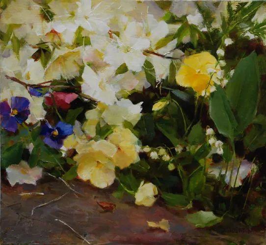 对花卉和花园的独特诠释,美国女画家凯西·安德森插图30