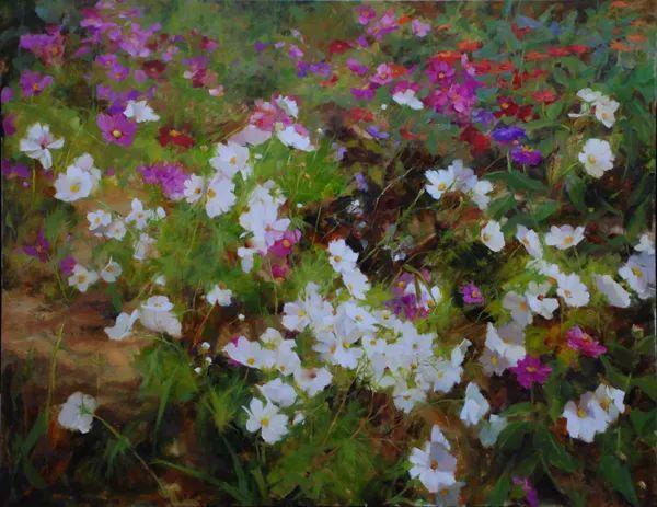 对花卉和花园的独特诠释,美国女画家凯西·安德森插图37