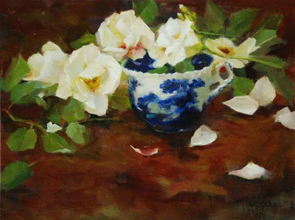 对花卉和花园的独特诠释,美国女画家凯西·安德森插图38