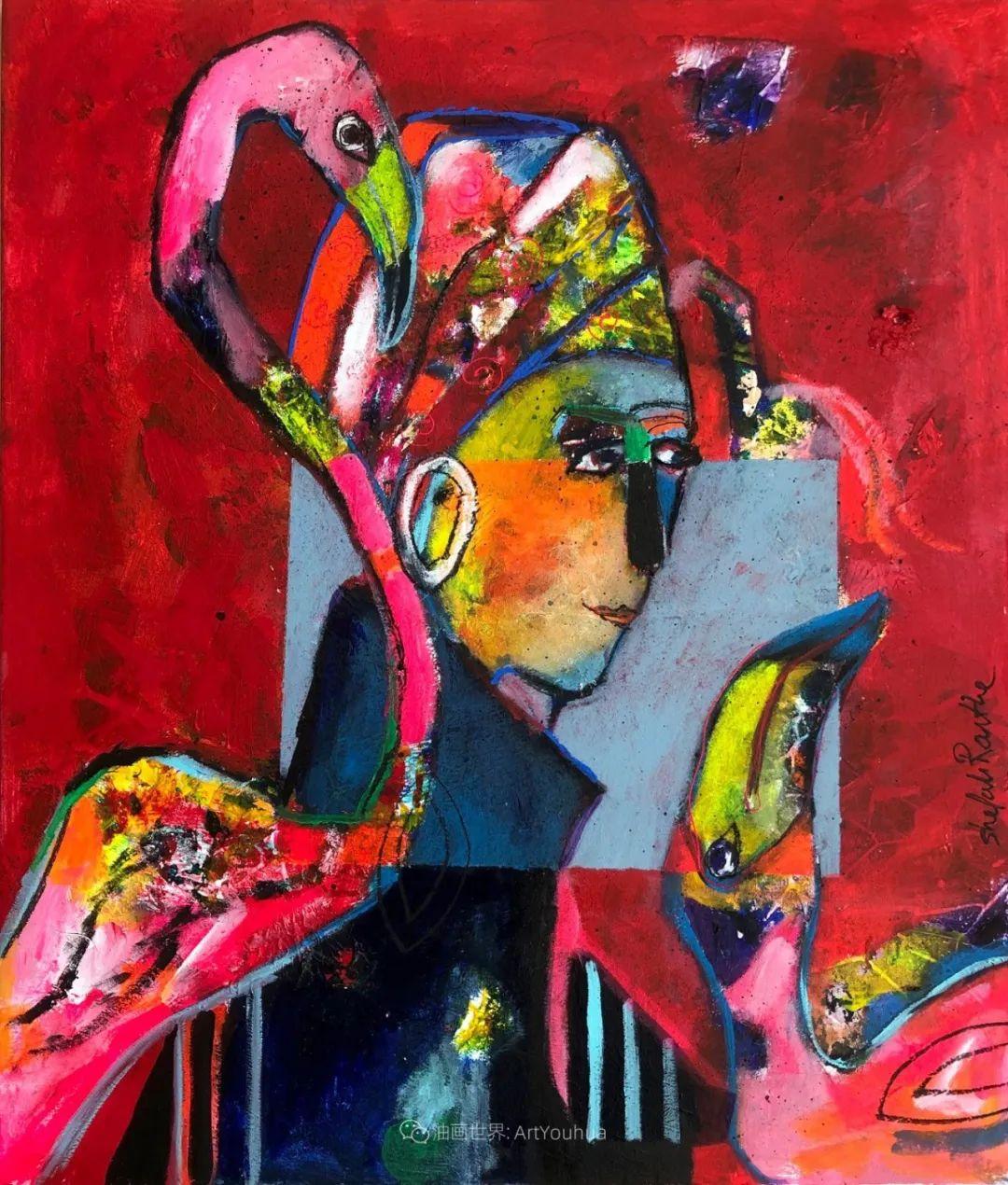 她的艺术是丰富多彩的,孟加拉国艺术家谢法利·兰特插图2
