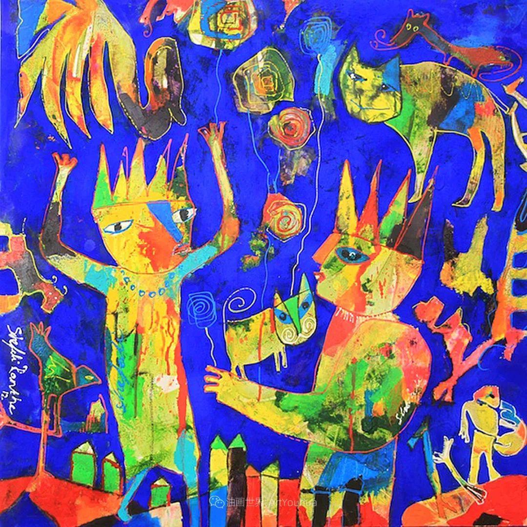 她的艺术是丰富多彩的,孟加拉国艺术家谢法利·兰特插图10