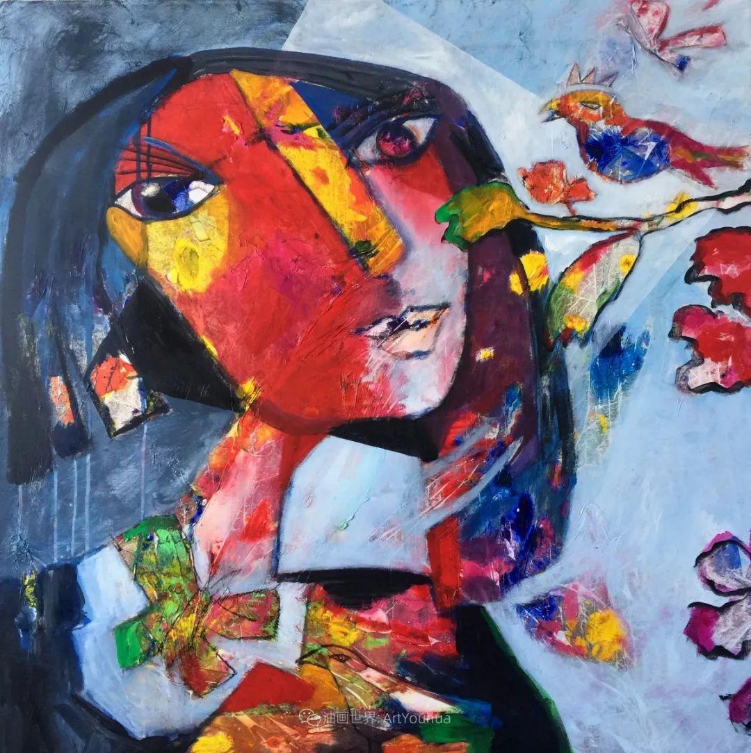 她的艺术是丰富多彩的,孟加拉国艺术家谢法利·兰特插图13