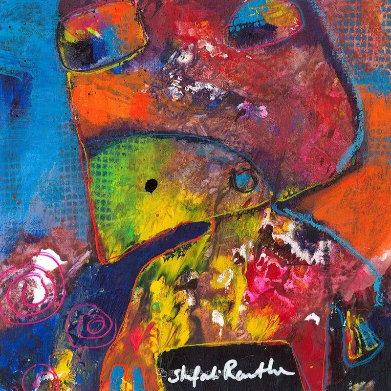 她的艺术是丰富多彩的,孟加拉国艺术家谢法利·兰特插图39