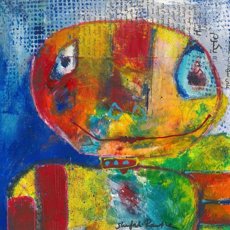 她的艺术是丰富多彩的,孟加拉国艺术家谢法利·兰特插图40