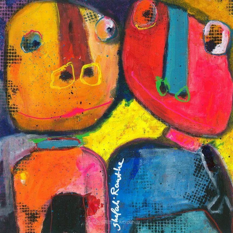 她的艺术是丰富多彩的,孟加拉国艺术家谢法利·兰特插图41