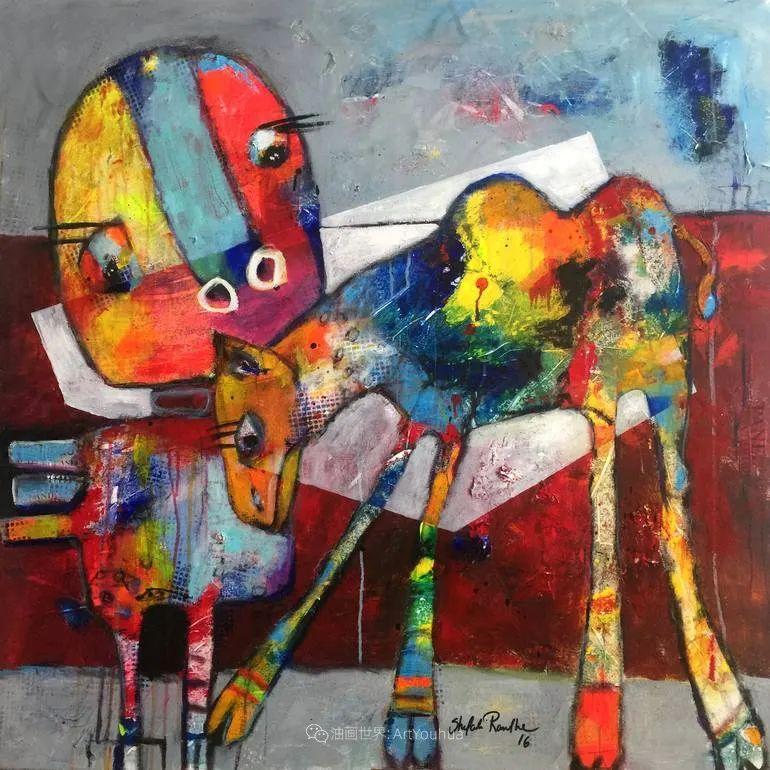 她的艺术是丰富多彩的,孟加拉国艺术家谢法利·兰特插图52