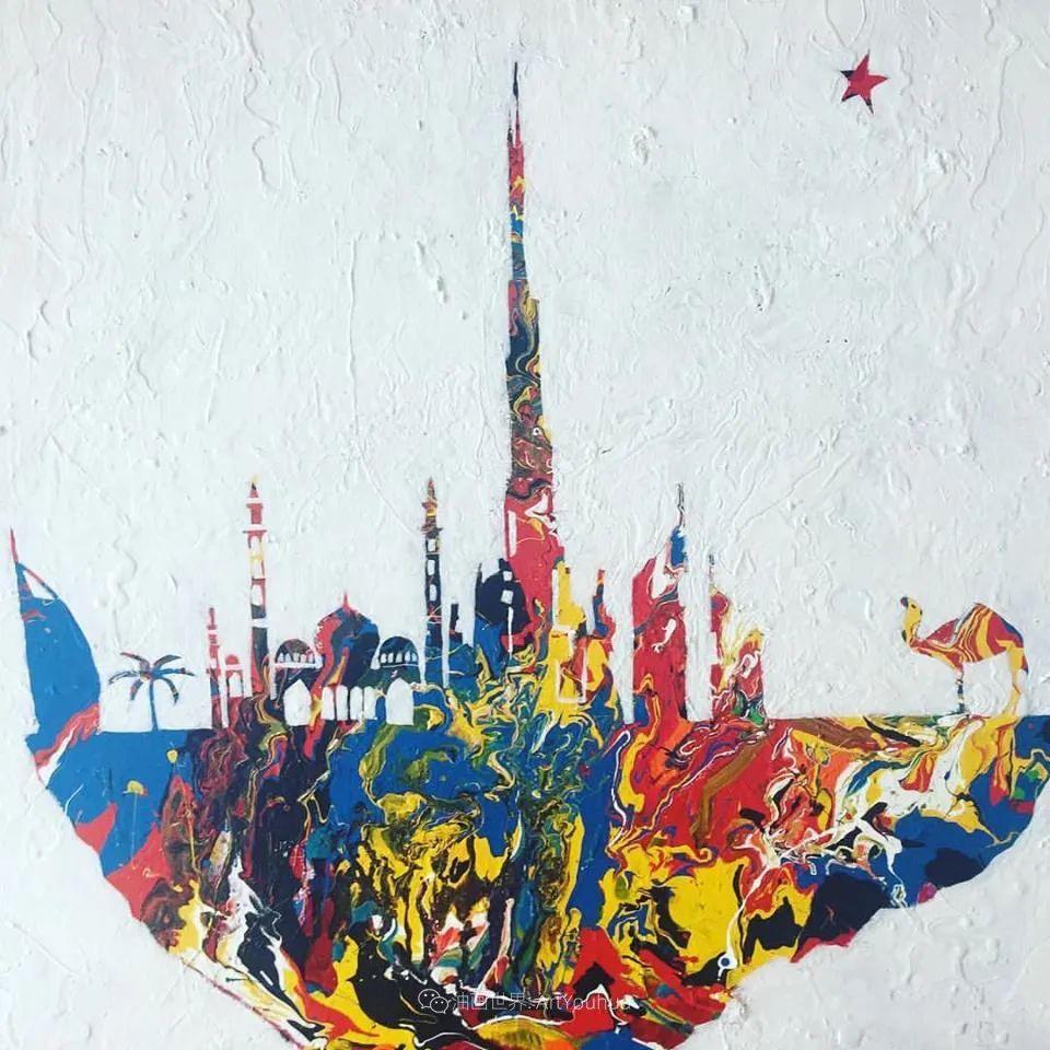 她的艺术是丰富多彩的,孟加拉国艺术家谢法利·兰特插图56
