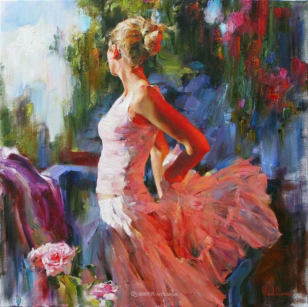 甜蜜的爱和彼此热爱的绘画,优秀浪漫的印象派伉俪画家插图17