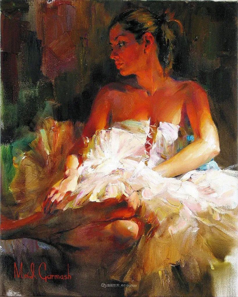 甜蜜的爱和彼此热爱的绘画,优秀浪漫的印象派伉俪画家插图109