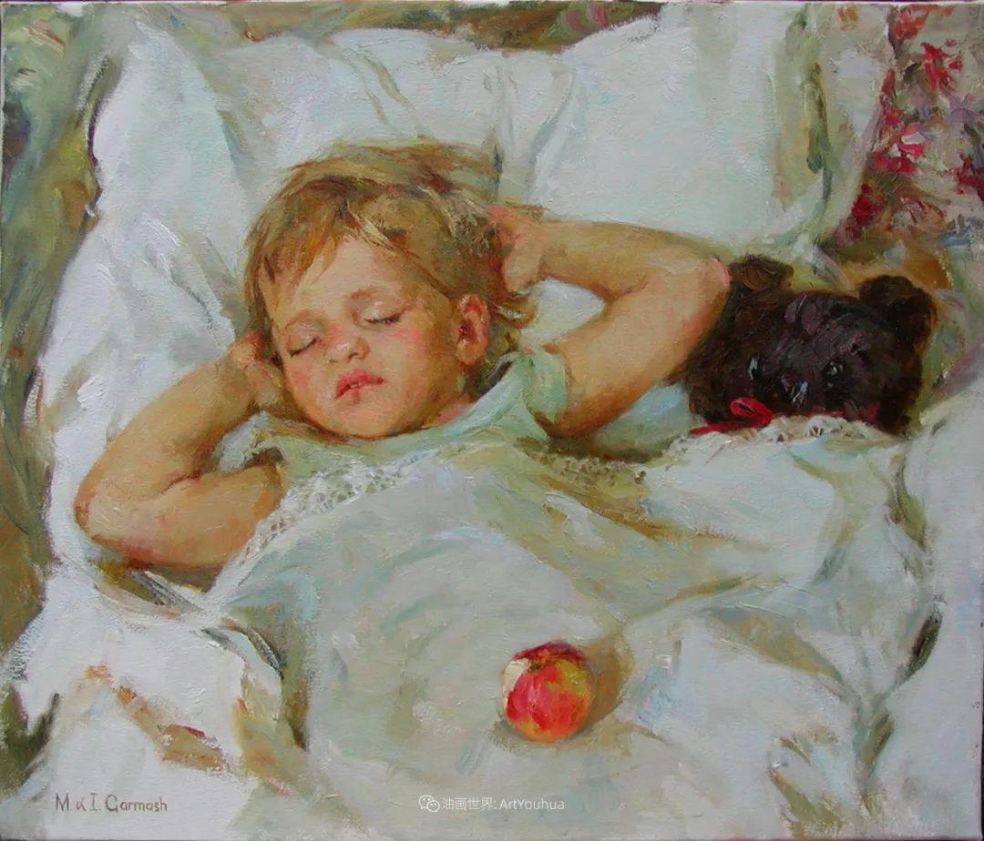 甜蜜的爱和彼此热爱的绘画,优秀浪漫的印象派伉俪画家插图149