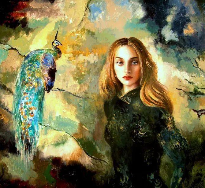 幻想的世界,波兰女画家乔安娜·贾温斯卡插图1