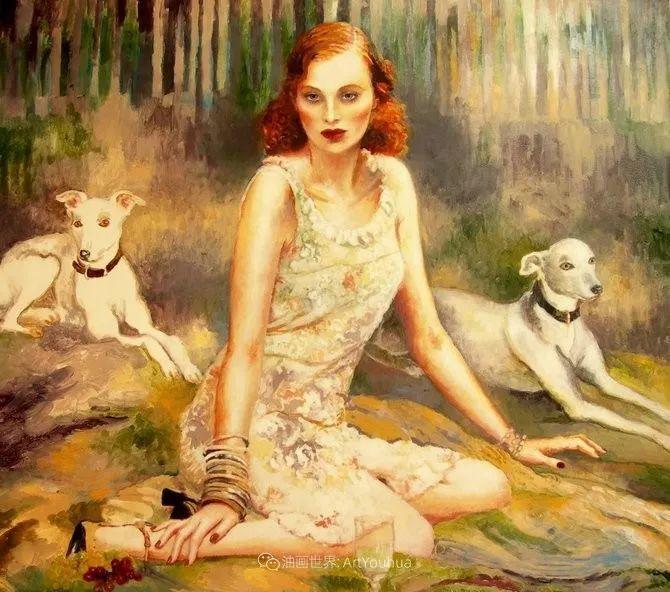幻想的世界,波兰女画家乔安娜·贾温斯卡插图25