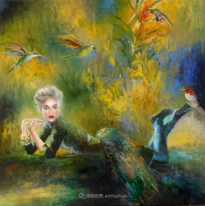 幻想的世界,波兰女画家乔安娜·贾温斯卡插图45