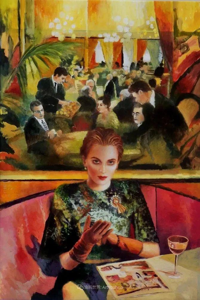 幻想的世界,波兰女画家乔安娜·贾温斯卡插图87