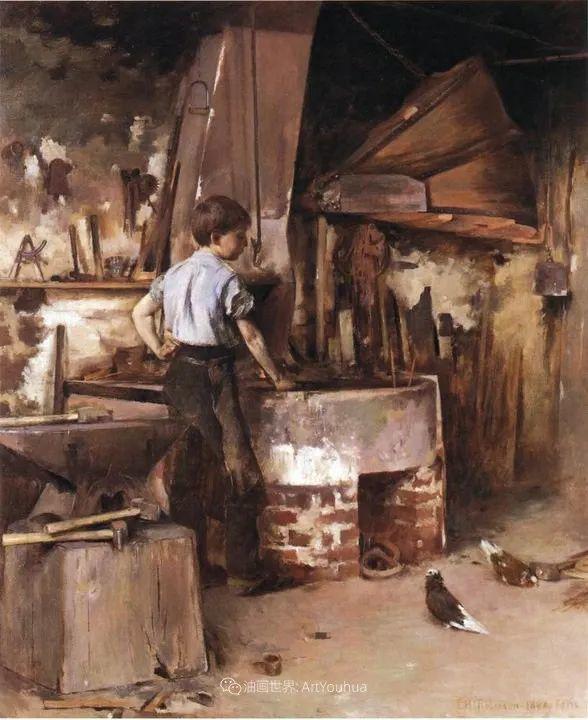 他与莫奈关系密切,是最早接触印象派的美国艺术家之一插图57